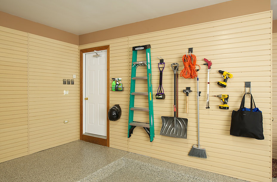 Garage wall storage in Michiana, IL
